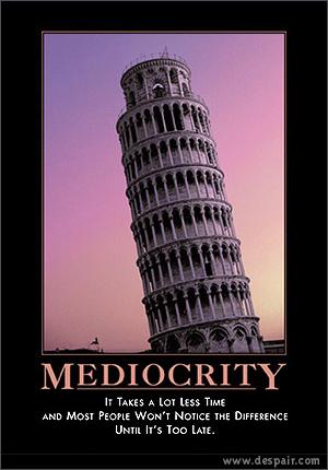 mediocridad