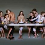 La última cena(versión publicista)