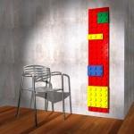 Radiador para amantes del Lego