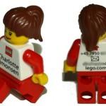 Tarjeta de visita para lego-adictos