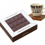 Posavasos para chocolateadictos