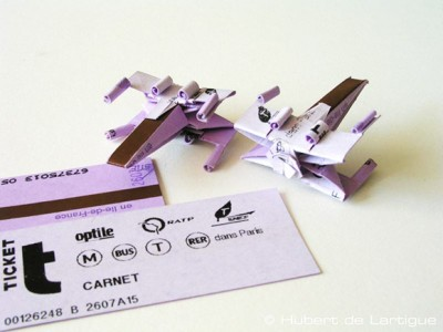made-an-x-wing-model-paris-metro-tickets