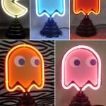 Neones de Pacman