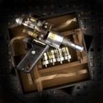 Pistola de rayos mortales