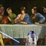 Última cena(version Starwars)
