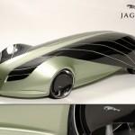 Concepto de Jaguar futuristico