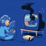 Porque Megaman no puede jugar a la consola