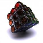 Regalos molones(VI): Cubo de Rubik transparente