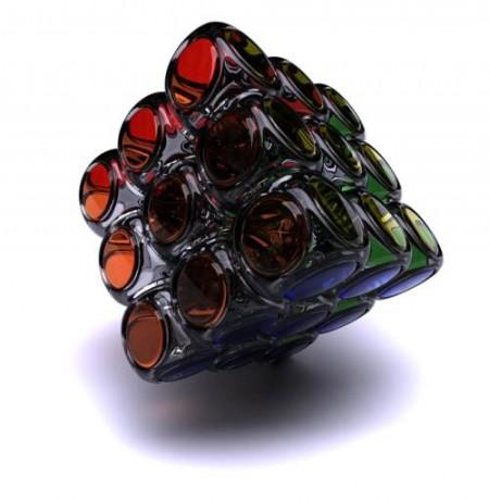 glass-rubiks-cube