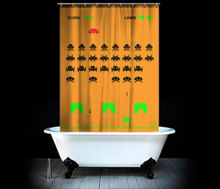 space_invaders_shower_curtain