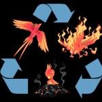 El origen del reciclaje