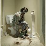 Te cuidado en el baño
