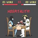Hospitalityyyyyy!!!