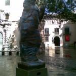 Una estatua de Godzilla en Zgz?!!!