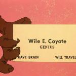 La tarjeta del coyote