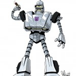 Bender se afilia a los Decepticons
