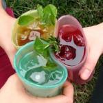 Vasos de gelatina
