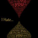 Lo que la gente ama y odia