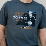 Camiseta cientifica