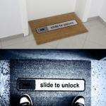 Desliza para desbloquear