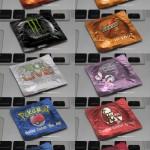 Condones con eslogan