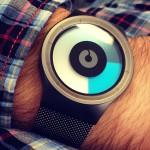 Reloj con colorines