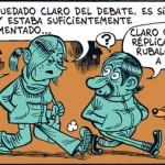 Resumen del debate electoral