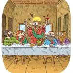 La ultima cena (version del jueves)