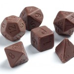 Dados de chocolate