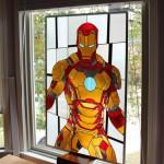 Vidriera de Ironman